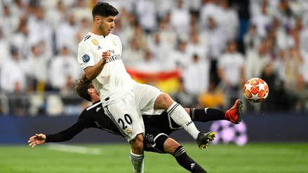 Marco Asensio sobre su lesión: