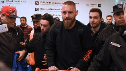 ¡Llegó a suelo gaucho! Daniele De Rossi ya se encuentra en Argentina para fichar por Boca Juniors