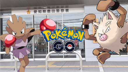 En lugar de usar sus criaturas, jugadores de Pokémon Go disputan gimnasio a golpes