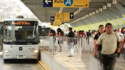 Metropolitano tendrá horario especial por feriado largo de Fiestas Patrias