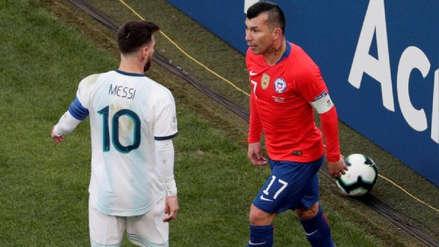 El castigo que recibió Gary Medel por su expulsión en la Copa América tras riña con Lionel Messi