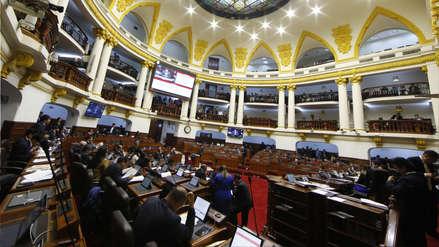 Congreso ratificó aprobación del proyecto de inmunidad parlamentaria
