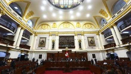 Congreso aprobó proyecto de inmunidad parlamentaria que tendrá que ser ratificado en referéndum