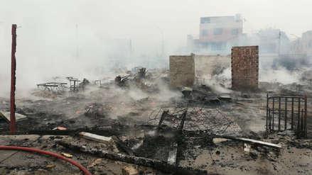 10 fotos de la destrucción causada por el incendio en el Callao