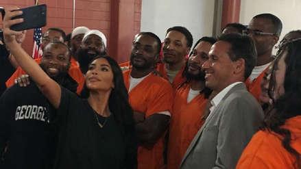 Esta es la razón por la que Kim Kardashian visitó una cárcel en Estados Unidos