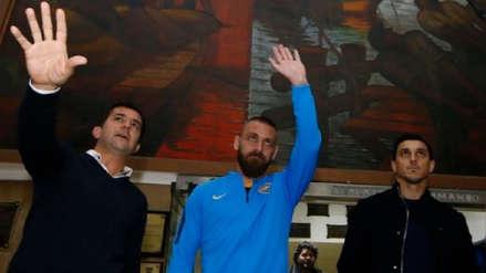 Boca Juniors oficializó el fichaje de Daniele De Rossi por una temporada