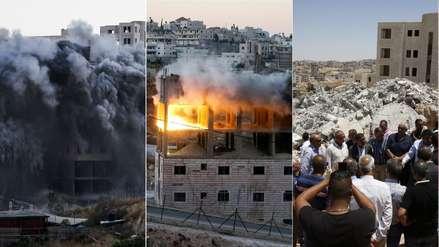 """""""¡Quiero morir aquí!"""": 20 fotos de las casas palestinas demolidas por Israel en medio de la polémica"""