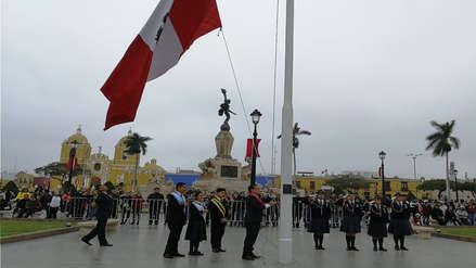 Fiestas Patrias | Diez fotos del desfile escolar en el centro de Trujillo