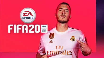 ¡Cristiano no va más! Eden Hazard es el protagoniza de la portada de FIFA 20