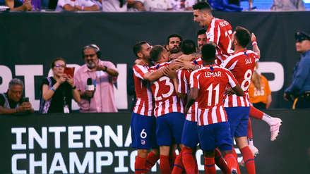 ¡Al minuto del partido! Diego Costa 'madrugó' al Real Madrid y marcó el primer gol del Atlético de Madrid