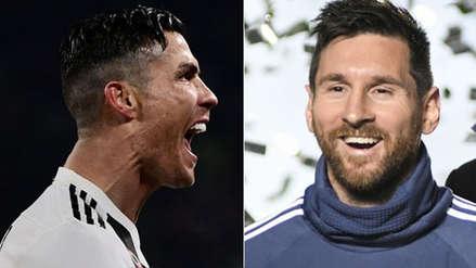 Cristiano Ronaldo y Lionel Messi disputan el mejor gol de la temporada en la UEFA