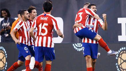 ¡Una paliza! Diego Costa marcó el 4-0 del Atlético de Madrid ante Real Madrid
