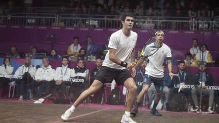 Lima 2019: Diego Elías venció 3-0 a Todd Harrity y avanzó a la semifinal de squash en los Juegos Panamericanos