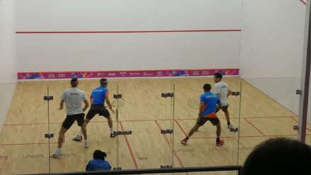 Lima 2019 | Diego Elías y Alonso Escudero clasificaron en dobles a las semifinales de squash en Panamericanos