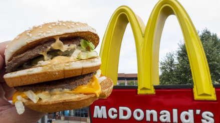 McDonald's registra su mayor incremento en ventas desde el 2012