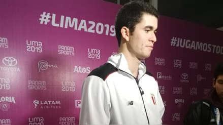 Lima 2019 | Diego Elías tras clasificar a semifinales en squash:
