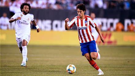 ¡El primero de muchos! Joao Félix marcó su primer gol con el Atlético de Madrid en la goleada al Real Madrid