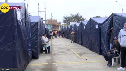 Callao: Más de 100 familias damnificadas por incendio duermen en carpas y piden ayuda