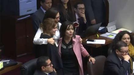 Así celebraron las congresistas la aprobación de ley de paridad y alternancia [FOTOS]