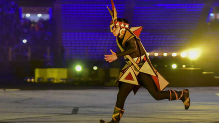 Lima  2019: 40 imágenes de la apoteósica y multitudinaria inauguración de los Panamericanos