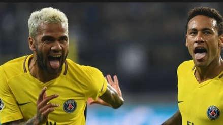 Neymar le jugó una broma pesada a Dani Alves, que busca equipo por Instagram