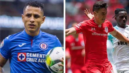 Cruz Azul cedió un empate de local ante el Toluca en último minuto del partido