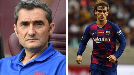 Ernesto Valverde sobre Antoine Griezmann: