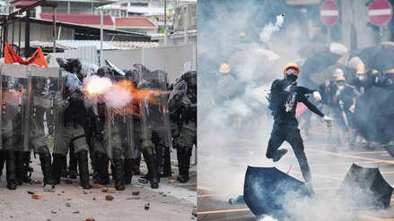 Hong Kong: Escenario de nuevo enfrentamiento entre Policía y miles de manifestantes en protesta prohibida