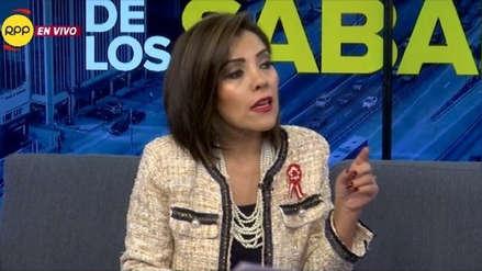 Alejandra Aramayo sobre candidatura de Daniel Salaverry: