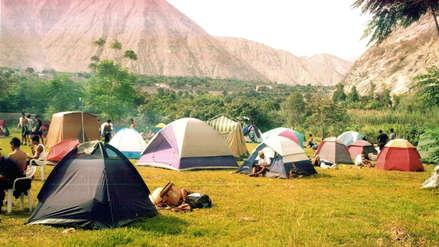 Fiestas Patrias : Minsa recomienda no acampar cerca de cuevas o formaciones rocosas