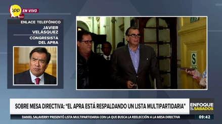 """APRA votará en bloque por lista de Pedro Olaechea: """"No es una candidatura fujimorista"""""""