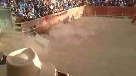 Video   Torero cómico queda grave tras recibir cornada y puede perder una pierna