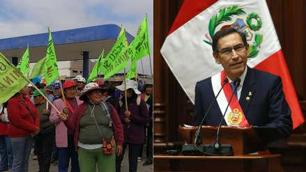 Mensaje a la Nación: Presidente Vizcarra anuncia Nueva Ley de Minería