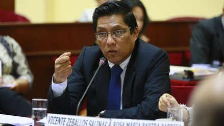 Ministro de Justicia espera que el proyecto de adelanto de elecciones sea aprobado en septiembre