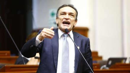 """Héctor Becerril no fue al Congreso como protesta: """"No puedo recibir a quien nos ataca y amenaza"""""""