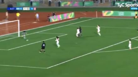 ¡Se le pasó a todas! El insólito gol con el que Argentina puso el 2-0 ante la Selección Peruana