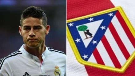¿Deja el Real Madrid? James Rodríguez se acerca a Atlético de Madrid por este detalle