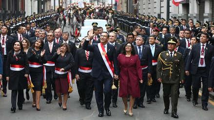 Fiestas Patrias | 30 imágenes del primer día de las celebraciones y el mensaje a la Nación