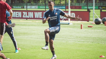 ¡La va pelear! Renato Tapia se unió a la pretemporada del Feyenoord y peleará por un lugar en el equipo