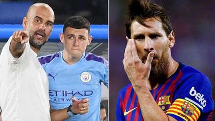 Pep Guardiola se olvidó de Lionel Messi y elige al futbolista más talentoso que ha visto
