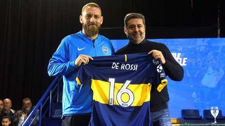 ¡Gladiador xeneize! Daniele De Rossi fue presentado en Boca Juniors: