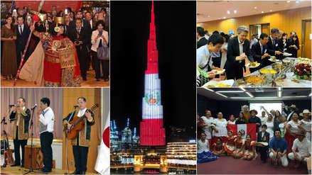 Así fueron las celebraciones en el mundo por las Fiestas Patrias del Perú [FOTOS]