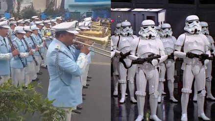 Banda de la Fuerza Aérea del Perú tocó la canción de