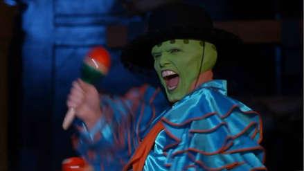 """""""La máscara"""", protagonizada por Jim Carrey y Cameron Diaz, cumplió 25 años de su estreno"""