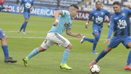 ¡De tijerita! Christian Ortiz casi pone el primero para Sporting Cristal ante Zulia