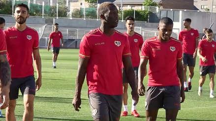 Luis Advíncula se unió a la pretemporada de Rayo Vallecano: