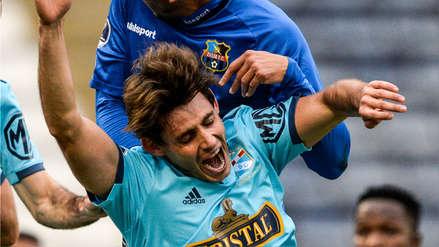 ¡Sólo era tocarla! Omar Merlo se falló una gran oportunidad de gol de Sporting Cristal ante Zulia