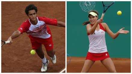 Lima 2019:  Juan Pablo Varillas y Dominique Schaefer avanzan de ronda en tenis de Juegos Panamericanos
