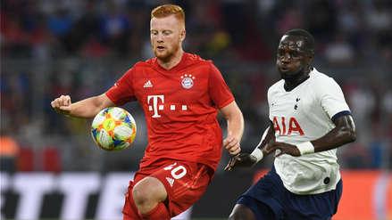 ¡Perdieron en casa! Bayern Munich cayó 6-5 en penales ante Tottenham en la final de la Audi Cup