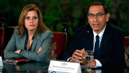 Todas las veces en que Mercedes Aráoz y Martín Vizcarra evidenciaron sus distancias